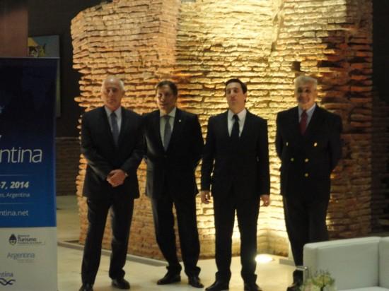 Enrique Meyer, Oscar Ghezzi, Javier Espina, Prof. Juan José Ganduglia,