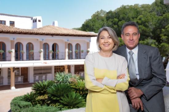 Carmen y Luis Riu Güell