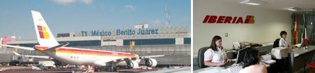 Iberia reduce al m nimo su oficina en df y cambia a su for Oficinas de iberia