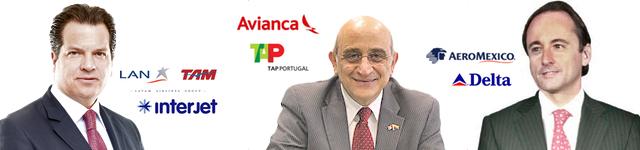 miguel-aleman-magnani-interjet-latam-german-efromovich-avianca-tap-portugal-eduardo-tricio-aeromexico-delta