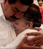 Maduro-y-Santos-en-la-bajadita (2)