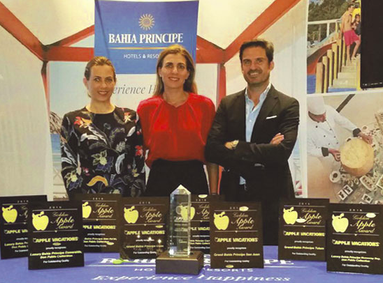 bahia-principe-apple-vacations-awards