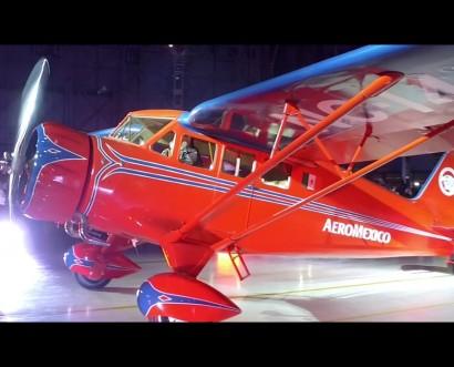 Aeroméxico recupera el primer avión que formó parte de su flota en 1934