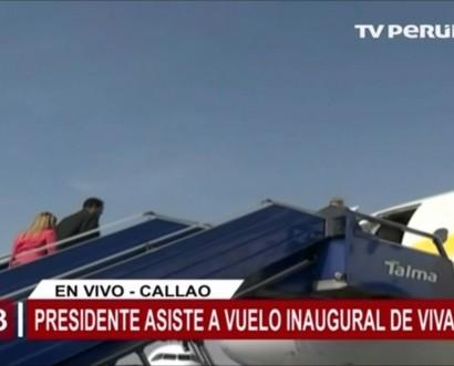 Kuczynski inaugura el primer vuelo de la low cost Viva Air Perú que tendrá 11 rutas